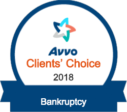 Avvo Client's Choice 2018 - Bankruptcy
